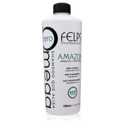 Felps Amazon Omega Zero Shampoo 500ml Sem Formol Maracujá