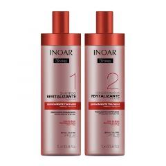 Kit Shampoo e Condicionador Inoar OXYFREE Revitalizante 2X1L