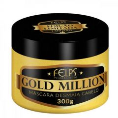 Mascara Desmaia Cabelo Felps Gold Million 300g