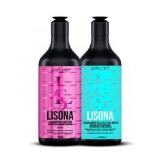 Kit Progressiva Seduction Lisona (Shampoo 250ml  e Selante 250ml)