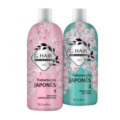 Kit Progressiva G Hair Tratamento Japones 2X1L