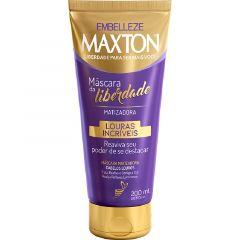 Mascara Capilar Tonalizante Embelleze Maxton Louras Incriveis 200ml