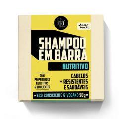 Lola Shampoo em Barra Cabelo + Resistentes & Saudáveis 90g Nutritivo