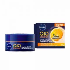 Nivea Q10 Energy Revitalizante Creme Facial Noite 50g 3x Antioxidantes