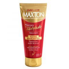 Mascara Capilar Tonalizante Embelleze Maxton Ruivas Marcantes 200ml