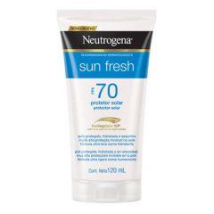 Neutrogena Sun Fresh Protetor Solar 120ml FPS 70
