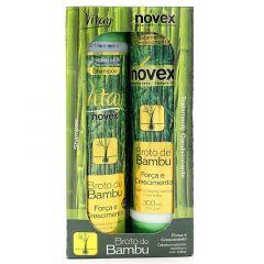 Kit Shampoo e Condicionador Embelleze Novex Vitay Broto de Bambu (02 produtos)