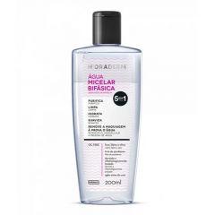 Agua Micelar Bifásica Hidraderm Farmax 5 em 1 Oil Free 200ml