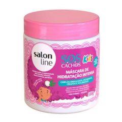 Salon Line Máscara de Hidratação Intensa SOS Cachos Kids 500g
