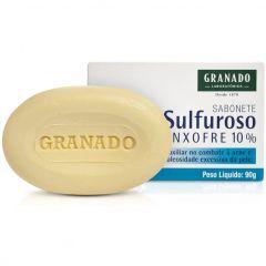 Granado Sabonete Sulfuroso Enxofre 10% 90g