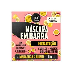 Lola Máscara em Barra Hidratação 65g Maracujá & Buriti