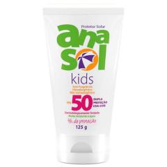 Protetor Solar Anasol Kids FPS50 125g