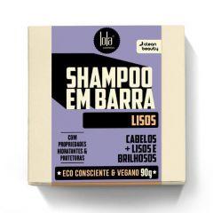 Lola Shampoo em Barra Cabelos + Lisos e Brilhosos 90g