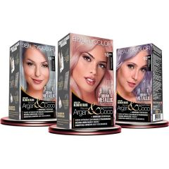 Beauty Color Tintura Kit Metallic cores