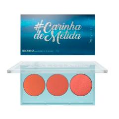 Paleta de Blushes Boca Rosa #Carinhademetida