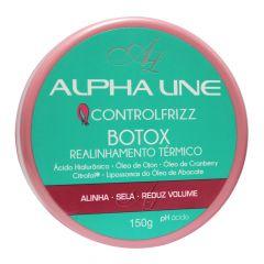 Alpha Line Botox Control Frizz Realinhamento Térmico 150g