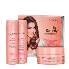 Kit Home Care Cadiveu Hair Remedy  (3 produtos)
