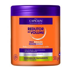 Capicilin Redutor de Volume Máscara de Tratamento 500g Max Redução