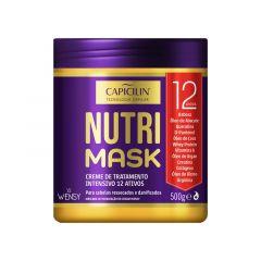 Capicilin Nutri Mask Máscara de Tratamento 500g