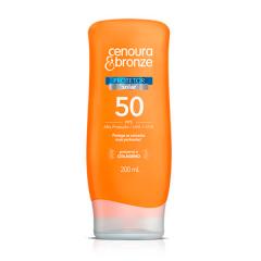 Cenoura & Bronze Protetor Solar 200ml FPS 50
