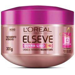 Creme de Tratamento Elseve L'Oréal Paris Quera-Liso 300g