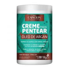 Capicilim Óleo de Argan Creme p/ Pentear 1kg