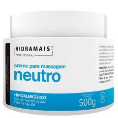 Hidramais Creme para Massagem 500g Neutro Hipoalergênico