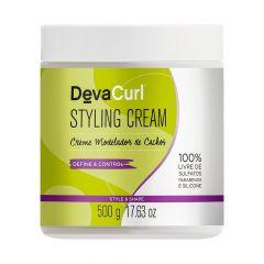 Deva Curl Styling Cream Creme Modelador de Cachos 500g