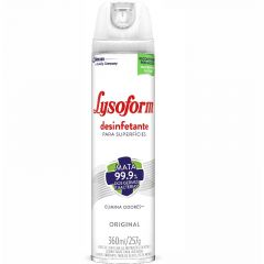 Desinfetante para Superfícies Aerosol Lysoform Original 360ml