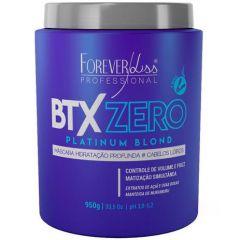 Forever Liss Botox Zero Platinum Blond Máscara Hidratação 950g
