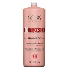 Felps Professional XForce Shampoo 1L Biotina e Beauplex VH
