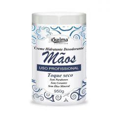 Kelma Creme Hidratante Desodorante Mãos 950g Toque Seco