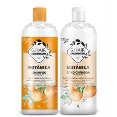 G Hair Kit Botânica Shampoo e Condicionador 2x1L Cabelos Mistos 7896468375193