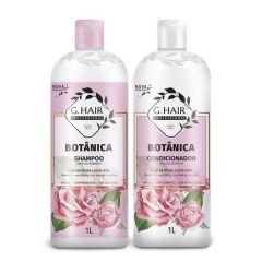 G Hair Kit Botânica Shampoo  e Condicionador 2x1L Cabelos Normais