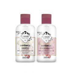 G Hair Kit Botânica Shampoo e Condicionador 2x300mL Cabelos Coloridos