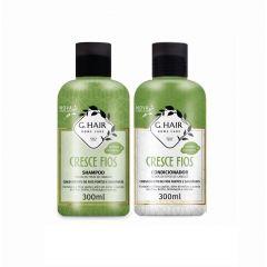 G Hair Kit Cresce Fios Shampoo e Condicionador 2x300mL