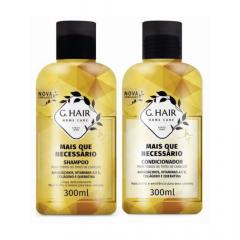 G Hair Kit Mais Que Necessário Shampoo e Condicionador 2x300mL