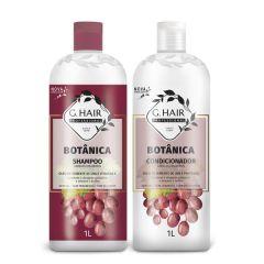 G Hair Kit Botânica Shampoo e Condicionador 2x1L Cabelos Coloridos