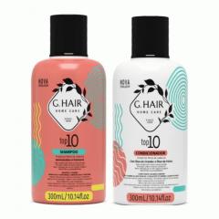 G Hair Kit Top 10 Shampoo e Condicionador 2x300mL
