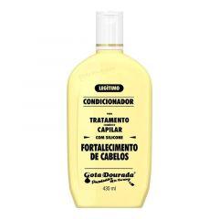 Gota dourada condicionador fortalecimento de cabelos silicone  430ml