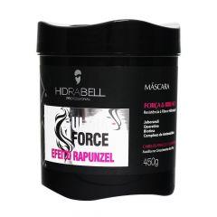 Hidrabell Ultra Force Máscara 450g Efeito Rapunzel