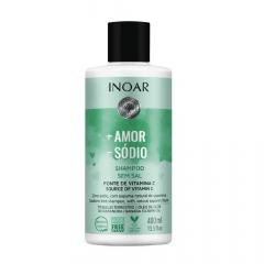 Inoar Mais Amor Menos Sódio Shampoo 400mL