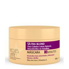 Mascara Matizadora Jacques Janine Ultra Blond -Professionnel Uso Diário - 240ml