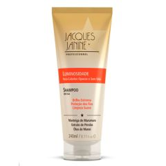 Shampoo Jacques Janine Luminosidade -Professionnel Uso Diário - 240ml