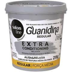KIT GUANIDINA EXTRA CONDITIONING REGULAR SALON LINE 218G