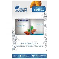 Kit Shampoo 200ml  e Condicionador 170ml  Head & Shoulders  Hidratação