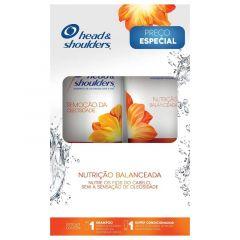Kit Shampoo 200ml  e Condicionador 170ml  Head & Shoulders  Nutrição Balanceada