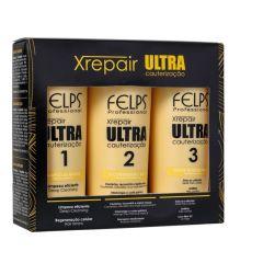 Kit Ultra Cauterização Felps Xrepair (3 produtos)