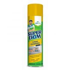 Limpa Estofados Spray Aerosol DomLine Tecido, Couro e Carpete 300ml