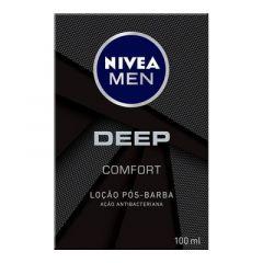 Loção Pós Barba Nivea Men DEEP Confort 100ml